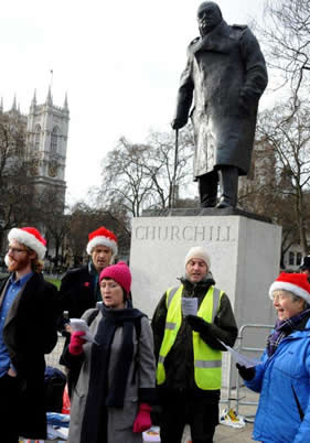 A world to win front line occupy democracy xmas 2014 for Farcical law