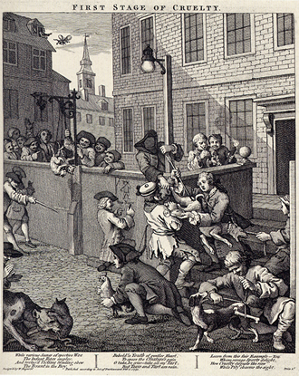 Hogarth: First Stage of Cruelty