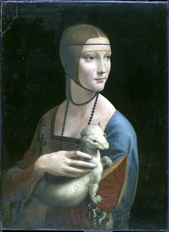 Leonardo Lady with an Ermine