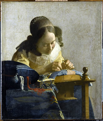Vermeer - The Lacemaker