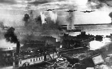 Stalingrad harbour summer 1942