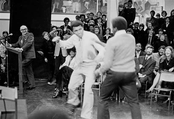 When Muhammad Ali Wowed A South London School