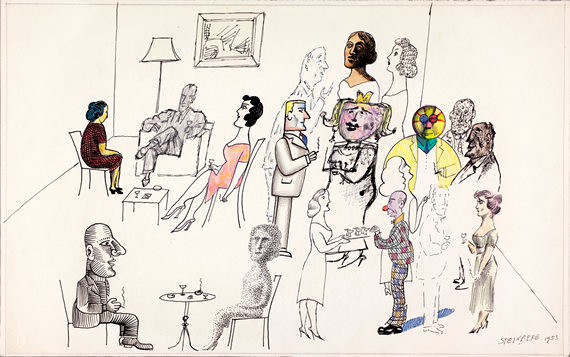 Saul Steinberg'-s View of the World | by Chris Ware | NYR Daily ...