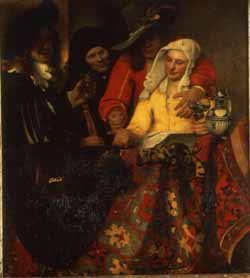 Vermeers The Procuress.